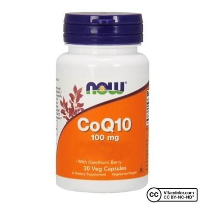 Now Foods CoQ10 100 Mg 30 Kapsül