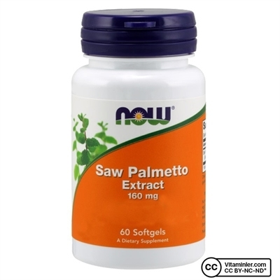 Now Foods Saw Palmetto Extract 160 Mg Kapsül