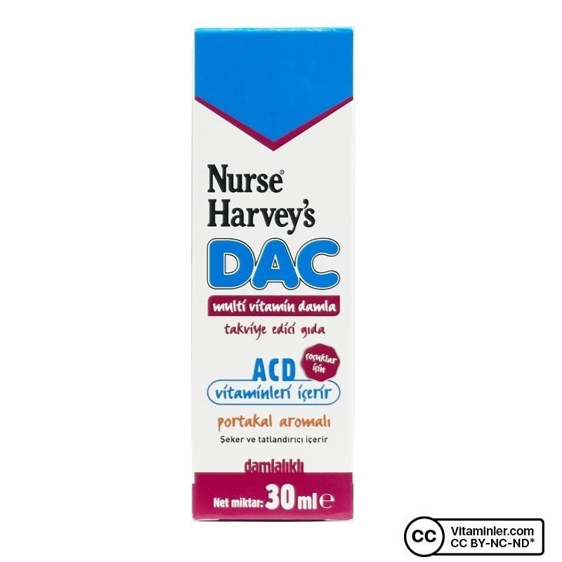 Nurse Harvey's DAC Multivitamin Damla 30 mL