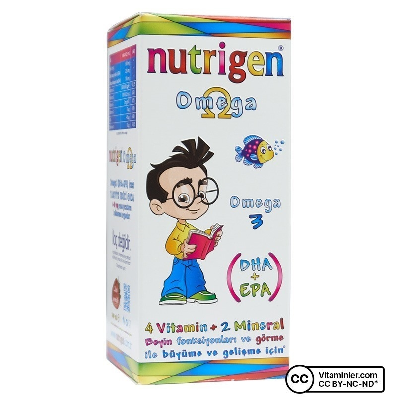 Nutrigen Omega 3 Şurup 200 mL