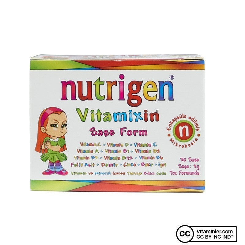 Nutrigen Vitamixin 30 Saşe