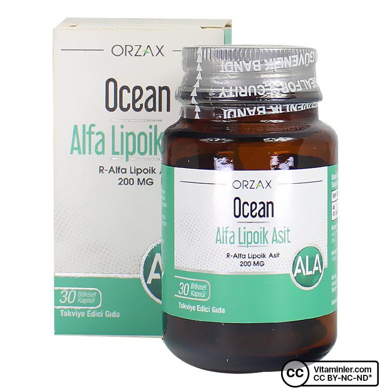Ocean Alfa Lipoik Asit 200 Mg 30 Kapsül