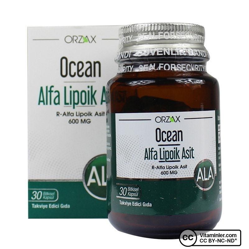 Ocean Alfa Lipoik Asit 600 Mg 30 Kapsül