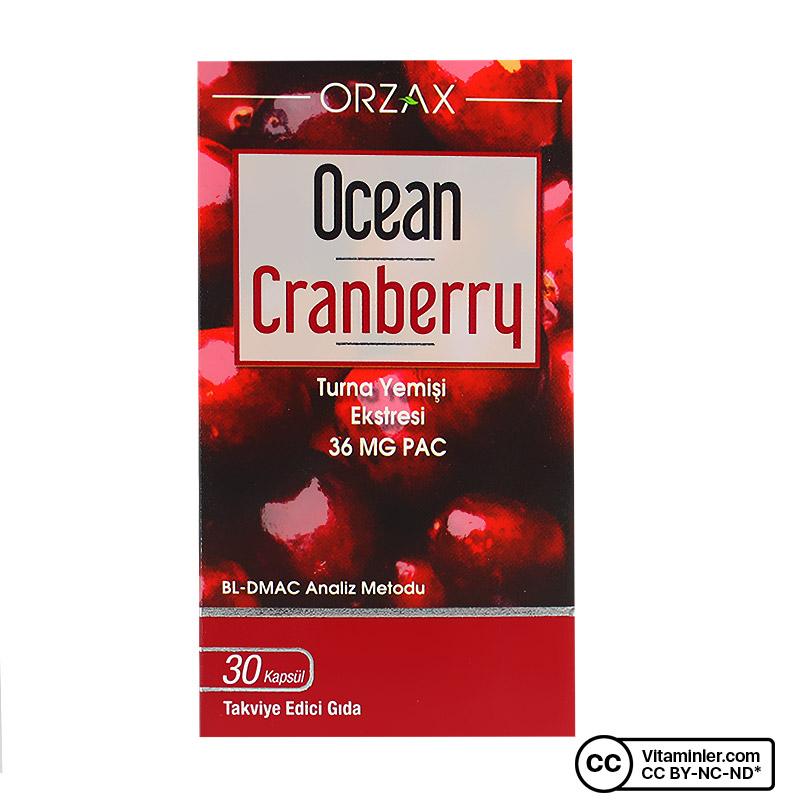 Ocean Cranberry 30 Kapsül