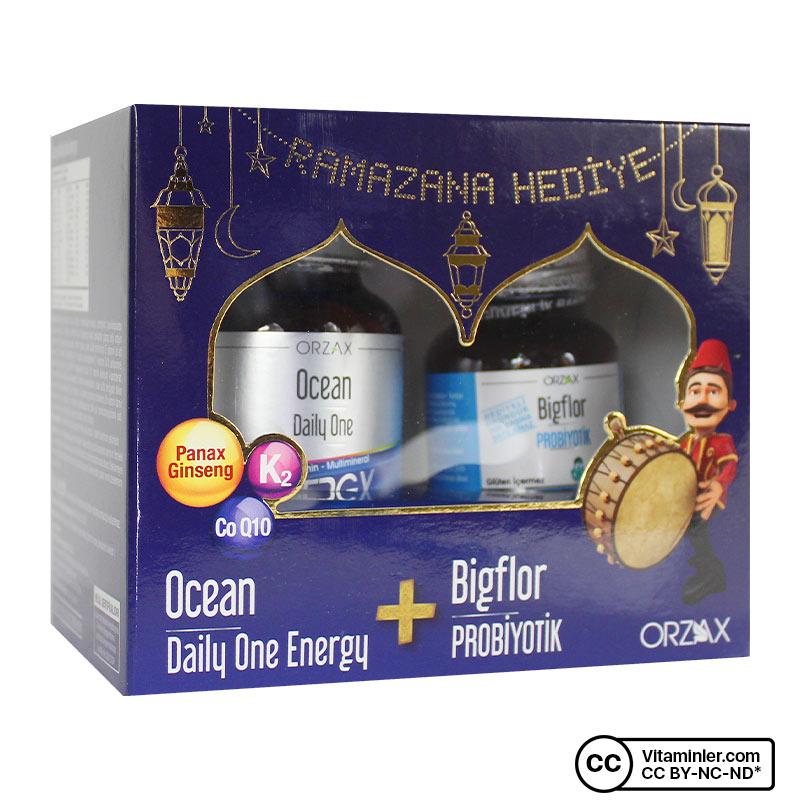 Ocean Daily One Energy 30 + Bigflor Probiyotik 10 Kapsül Hediyeli