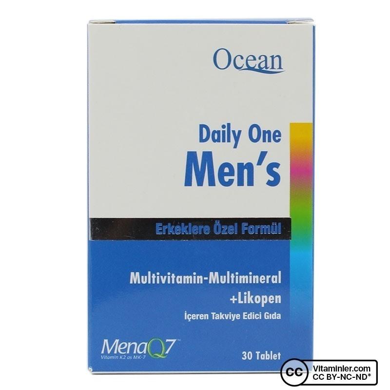 Ocean Daily One Men's Multivitamin 30 Tablet