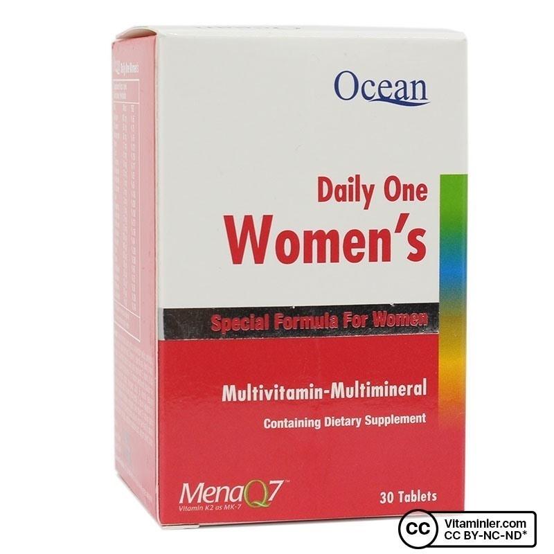 Ocean Daily One Women's Multivitamin 30 Tablet
