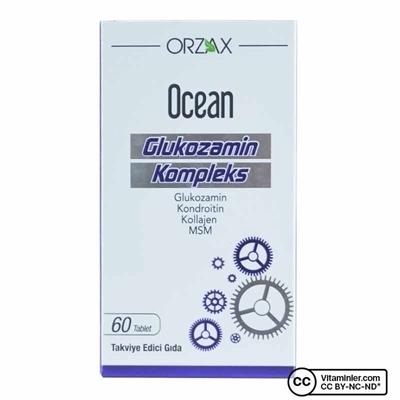 Ocean Glukozamin Kompleks 60 Tablet