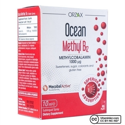 Ocean Methyl B12 1000 Mcg mL Sprey