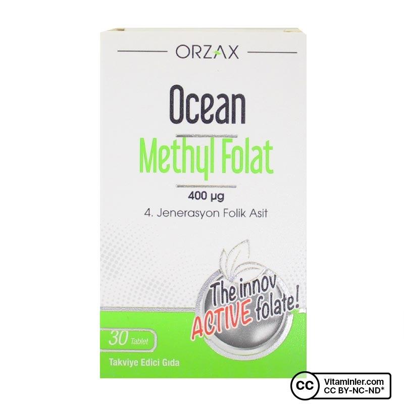 Ocean Methyl Folat 400 Mcg 30 Tablet