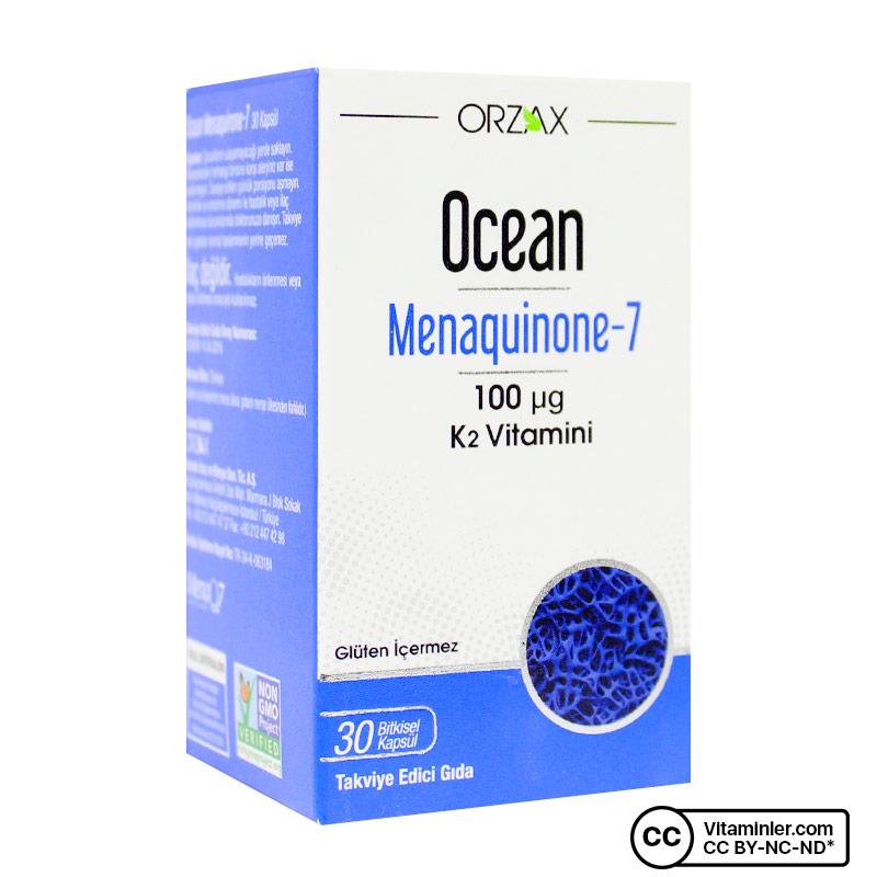 Ocean MK-7 100 Mcg K2 Vitamini 30 Kapsül