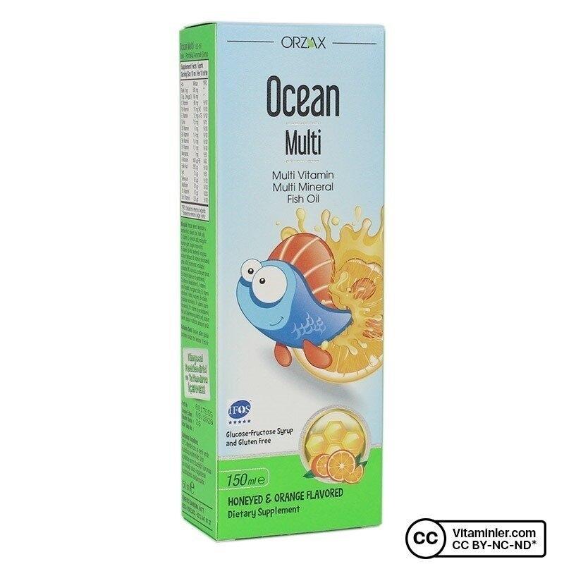 Ocean Multi Vitamin ve Balık Yağı 150 mL