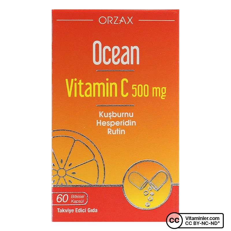 Ocean Vitamin C 500 Mg 60 Kapsül