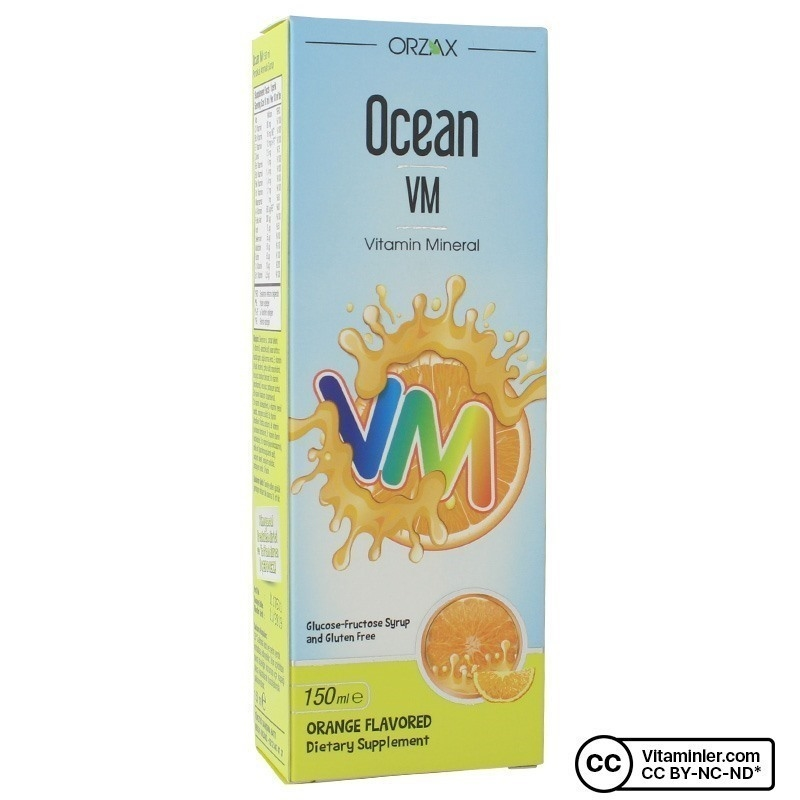 Ocean VM Şurup 150 mL