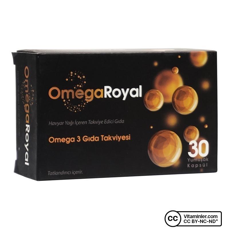 Omega Royal Havyar Balık Yağı 30 Kapsül