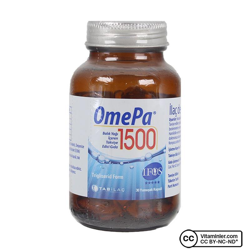 OmePa Balık Yağı 1500 Mg 30 Kapsül