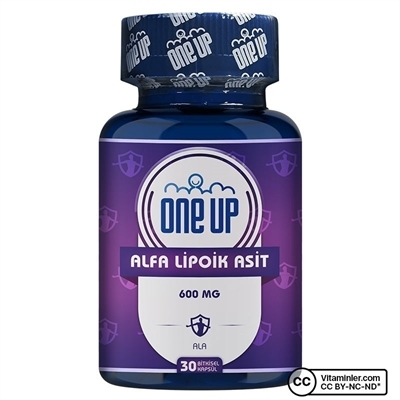 One Up Alfa Lipoik Asit 600 Mg 30 Kapsül