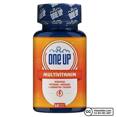 One Up Multivitamin 60 Kapsül