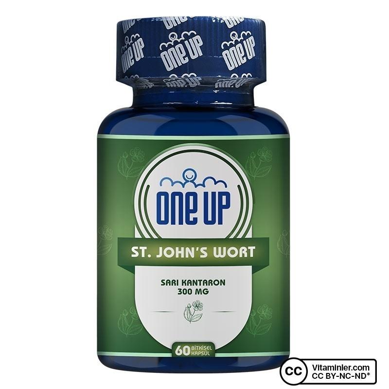 One Up St. John's Wort 300 Mg 60 Kapsül