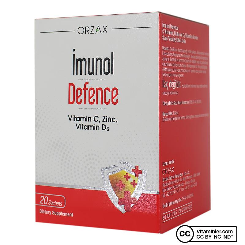 Orzax Imunol Defence 20 Saşe