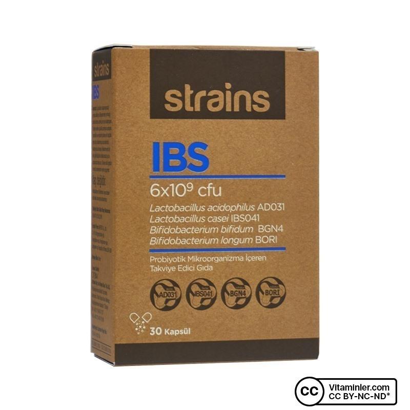 Orzax Strains IBS Probiyotik 30 Kapsül