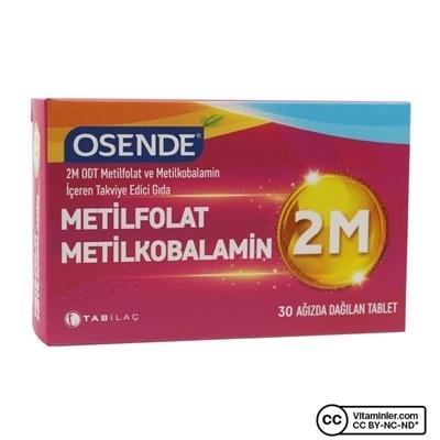 Tab Osende 2M MetilFolat Metilkobalamin 30 Tablet