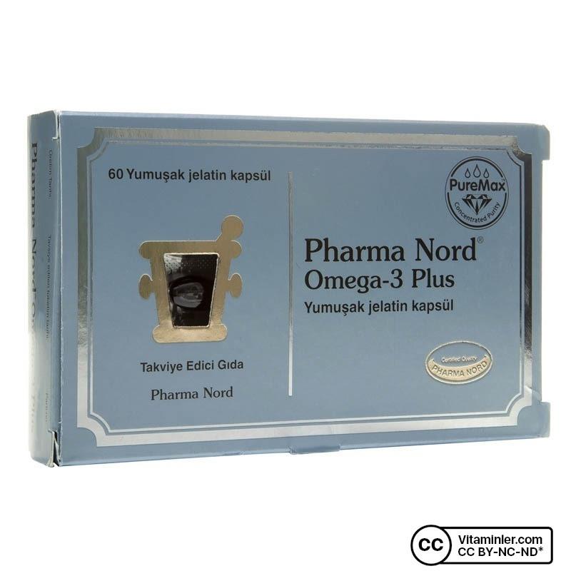 Pharma Nord Omega 3 Plus 60 Kapsül