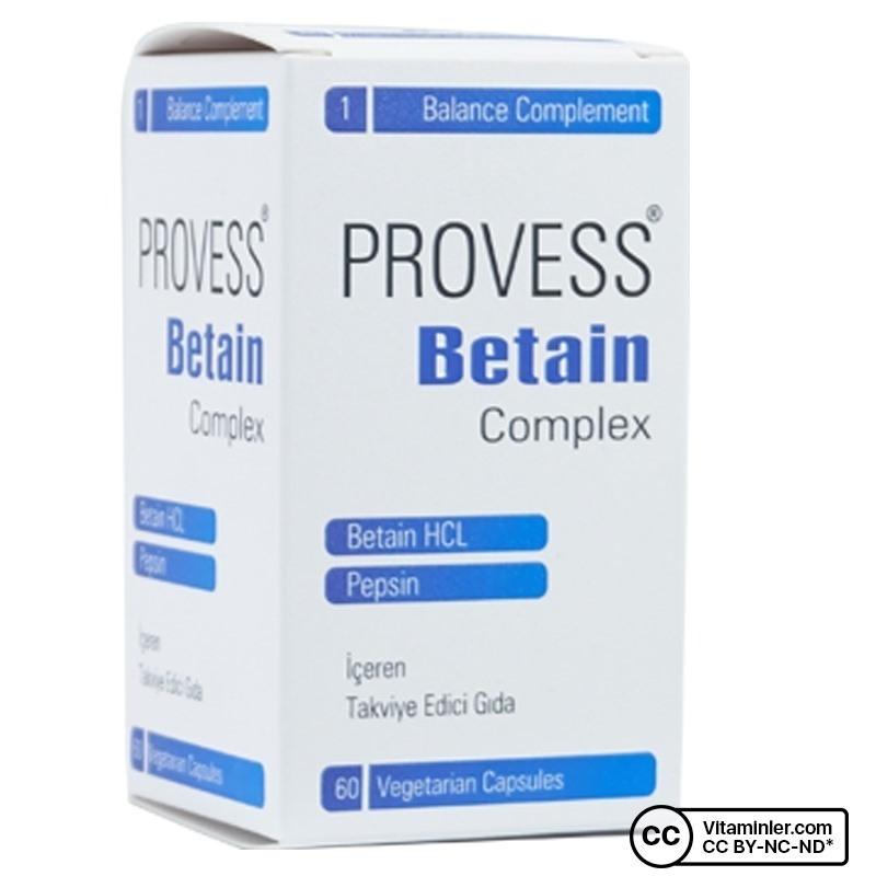 PharmaQ Provess Betain Complex 60 Kapsül