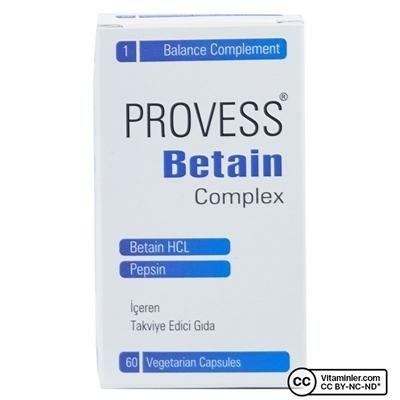 Pharmaq PharmaQ Provess Betain Complex 60 Kapsül
