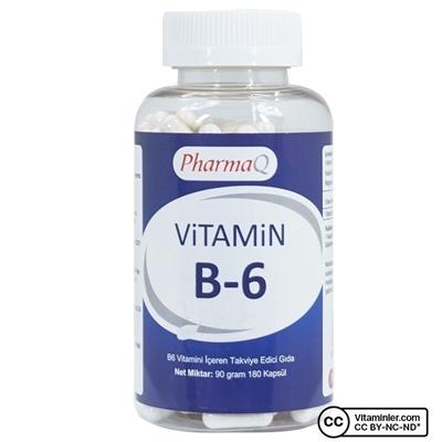 Pharmaq PharmaQ Vitamin B6 180 Kapsül