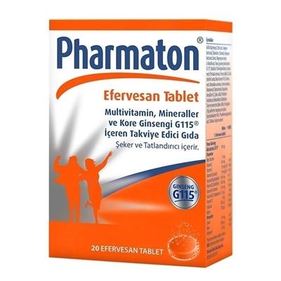 Pharmaton Efervesan Tablet 20