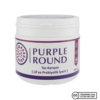 Purple Round Lif ve Prebiyotik 300 Gr