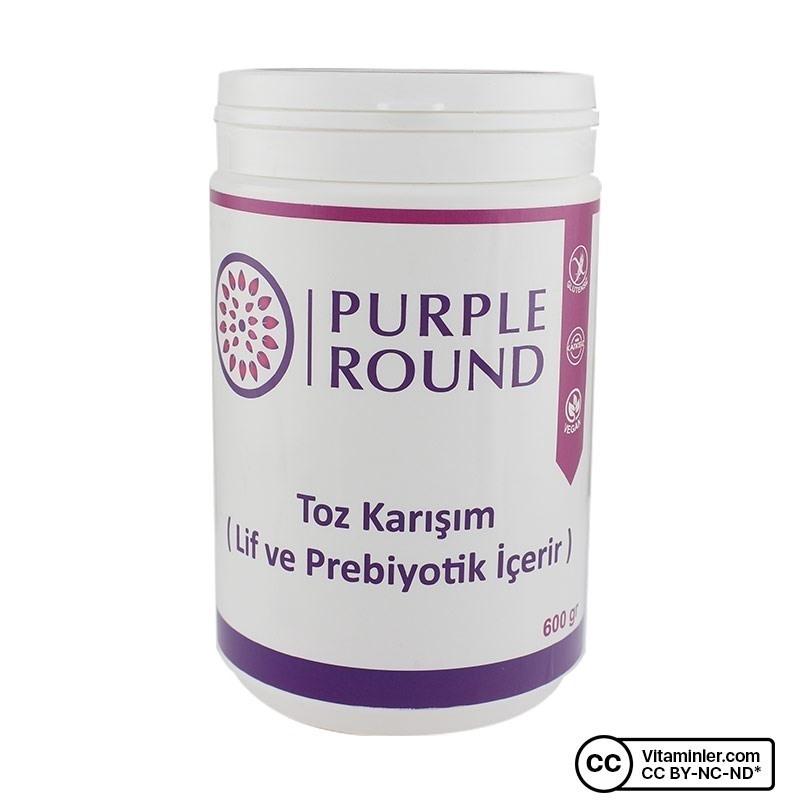 Purple Round Lif ve Prebiyotik 600 Gr