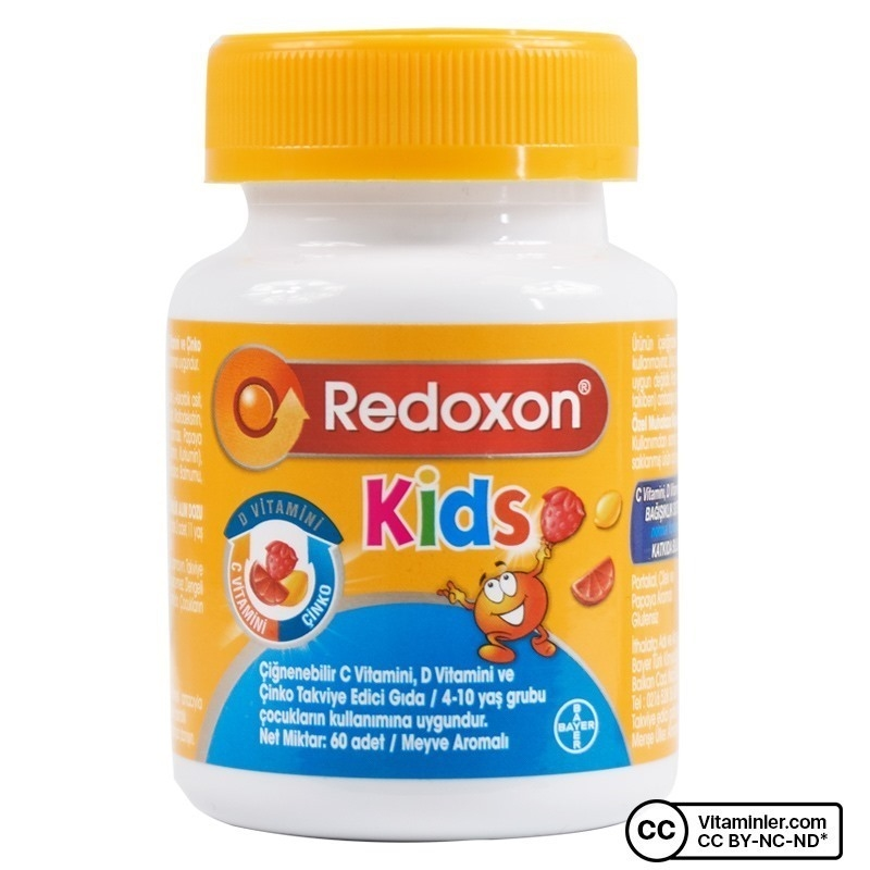 Redoxon Kids 60 Çiğnenebilir Form