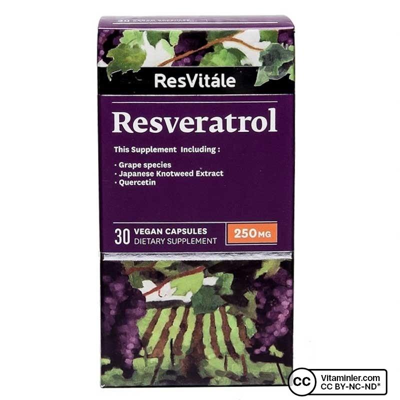 Resvitale Resveratrol 250 Mg 30 Kapsül