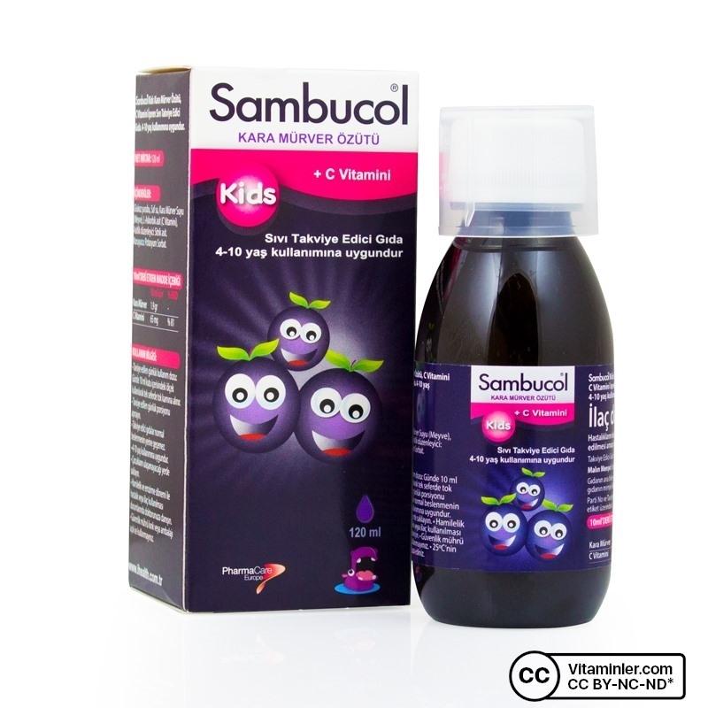 Sambucol Kids Şurup 120 mL