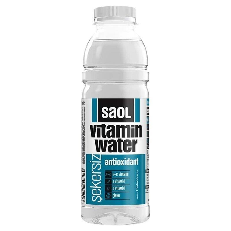 Saol Vitamin Water Antioxidant 500 mL 12 Adet