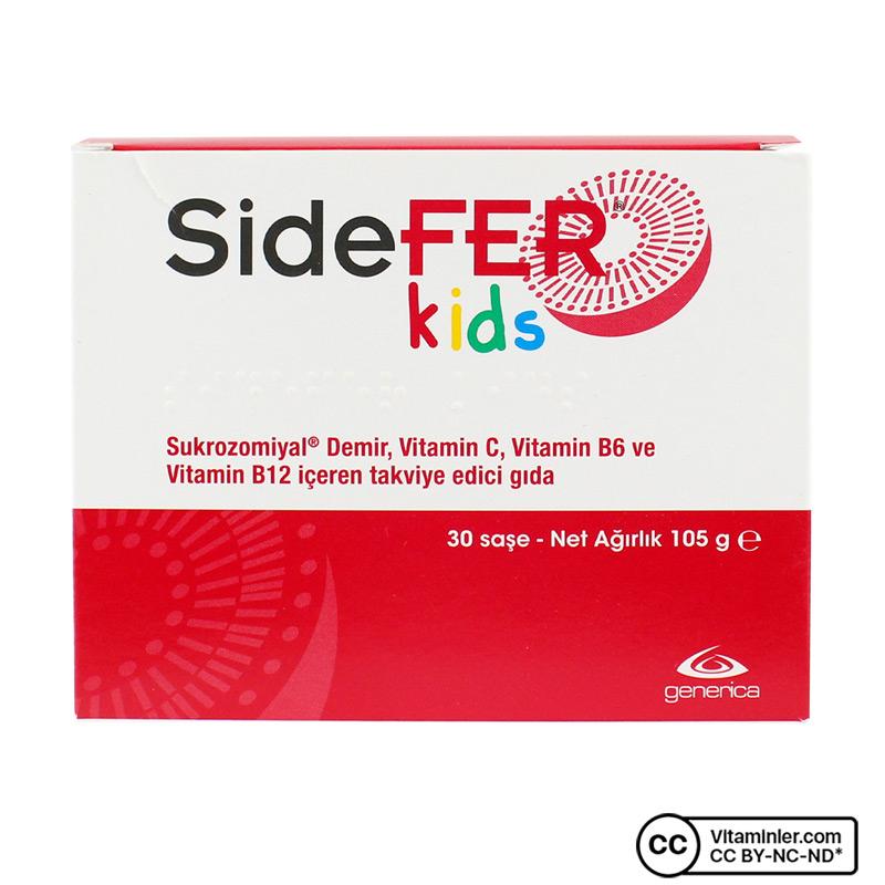 Sidefer Kids 30 Saşe