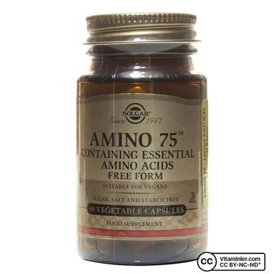 Solgar Amino 75 30 Kapsül