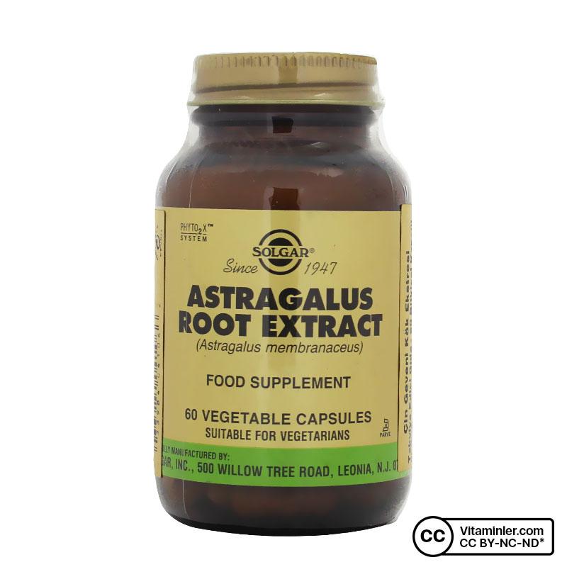 Solgar Astragalus Root Extract 60 Kapsül