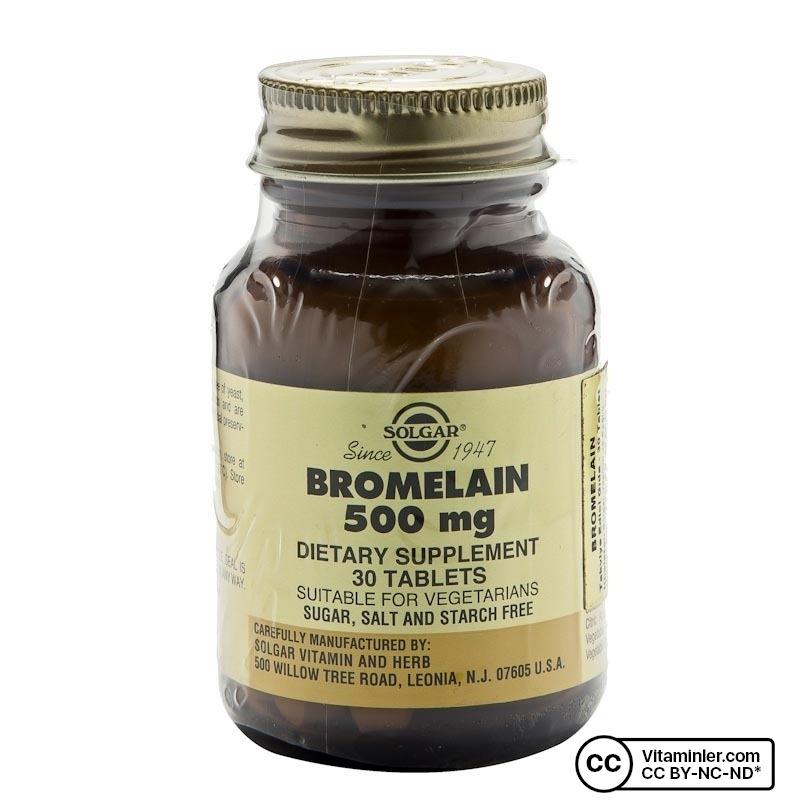 Solgar Bromelain 500 Mg 30 Tablet