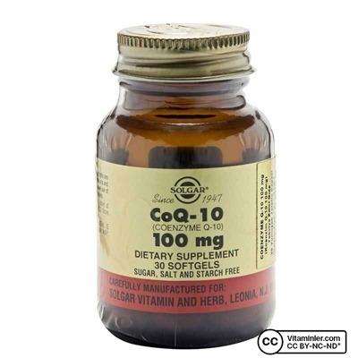 Solgar Coenzyme Q-10 100 Mg 30 Softjel