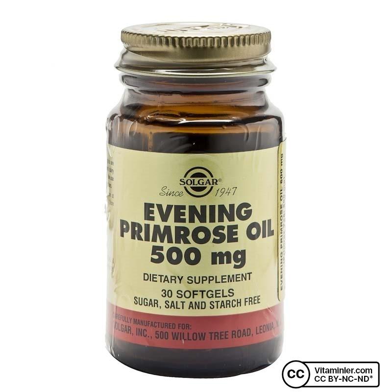 Solgar Evening Primrose Oil 500 Mg 30 Softjel