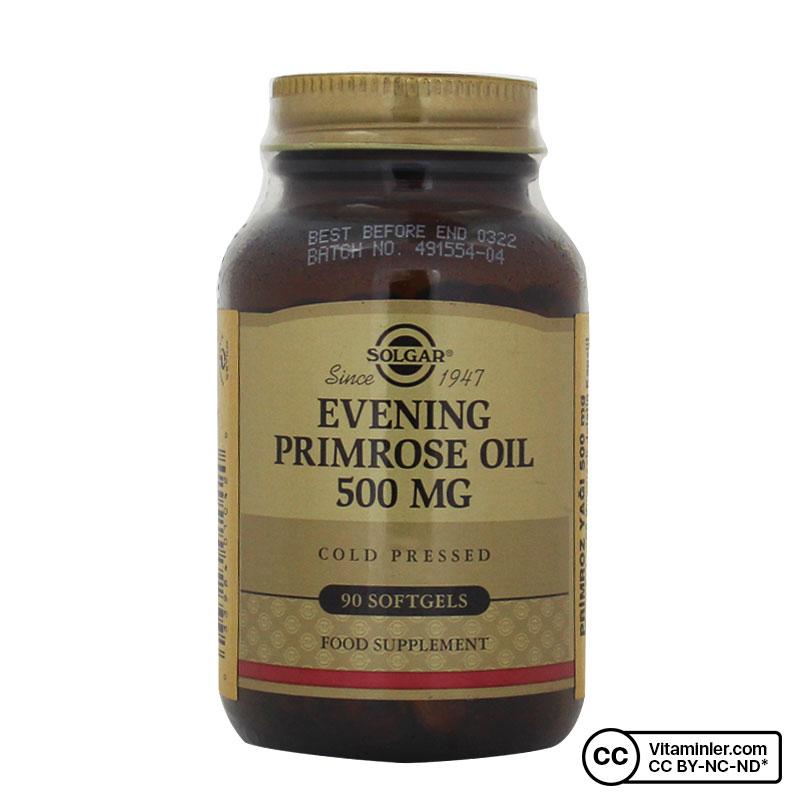 Solgar Evening Primrose Oil 500 Mg 90 Softjel