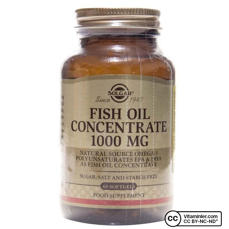 Solgar Fish Oil 1000 Mg 60 Softjel