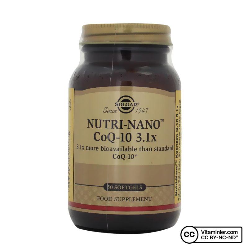 Solgar Nutri-Nano CoQ-10 3.1x 50 Kapsül