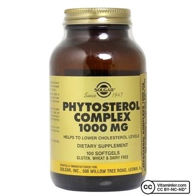 Solgar Phytosterol Complex 1000 Mg Kapsül