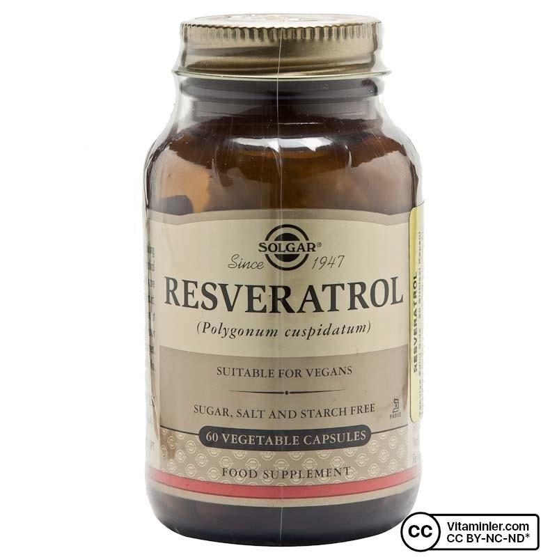 Solgar Resveratrol 60 Kapsül