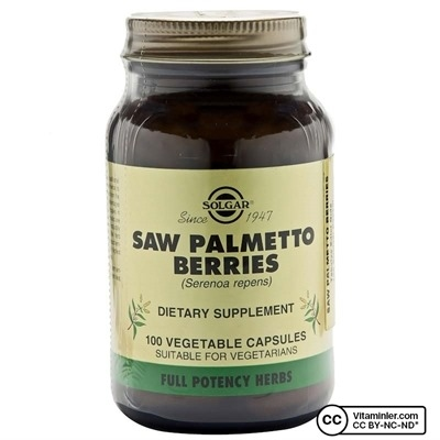 Solgar Saw Palmetto Berries 100 Kapsül