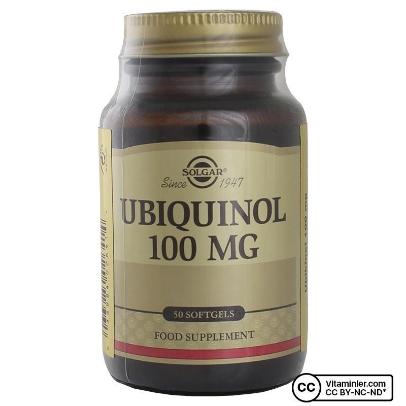 Solgar Ubiquinol 100 Mg 50 Kapsül